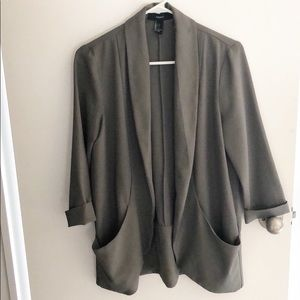 Forever 21 Sage Green Blazer Size S